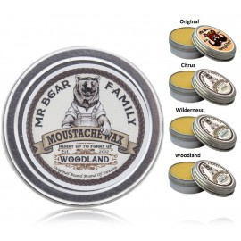 Mr. Bear Family Moustache Wax ūsų vaškas 30 g.