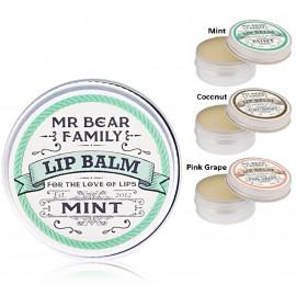 Mr. Bear Family Lip Balm lūpų balzamas 15 ml.