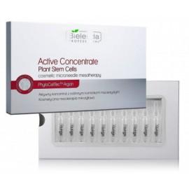 Bielenda Professional Active Concentrate koncentruota priemonė veido odos stangrinimui 10 x 3 ml.