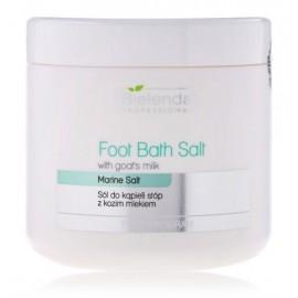 Bielenda Foot Bath Salt White Goats Milk atkuriamoji vonios druska pėdoms