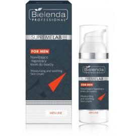 Bielenda Supremelab Moisturizing & Soothing Face Cream drėkinamasis ir raminamasis veido kremas vyrams 50 ml.