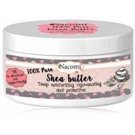 NACOMI Pure Shea Butter taukmedžio sviestas 100 ml.