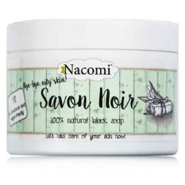 NACOMI Savon Noir natūralus juodasis kūno ir veido muilas