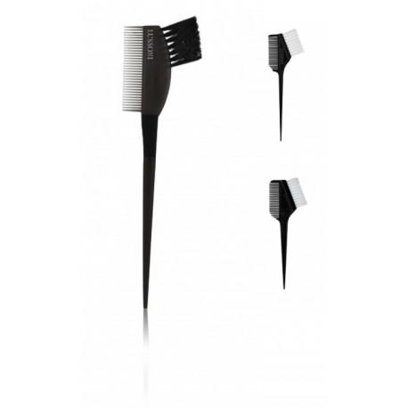 Lussoni Double Sided Tinted Brush šepetėlis-šukos plaukų dažymui 1 vnt.