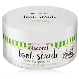 Nacomi Refreshing Green Tea Foot Scrub pėdų šveitiklis 125 g.