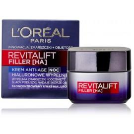 Loreal RevitaLift Filler naktinis veido kremas nuo raukšlių 50 ml.