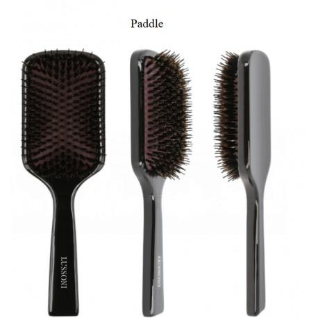 Lussoni Natural Style medinis plaukų šepetys, 1 vnt.