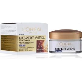 Loreal Age Specialist 70+ naktinis maitinamasis veido kremas nuo raukšlių 50 ml.