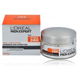 Loreal Paris Men Expert 24H Daily Moisturizer drėkinamasis veido kremas sausai odai 50 ml.