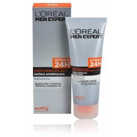Loreal Paris Men Expert 24H drėkinamasis veido kremas normaliai ir sausai odai