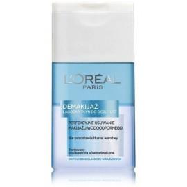 Loreal Dermo Expertise Gentle Makeup Remover švelnus dvifazis makiažo valiklis 125 ml.
