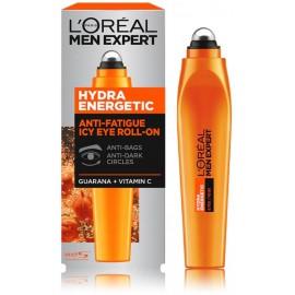 Loreal Paris Men Expert Hydra Energetic Anti-Fatigue Icy Eye Roll-On rutulinis paakių kremas