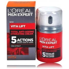 Loreal Paris Men Expert VitaLift 40+ drėkinamasis veido kremas brandžiai odai