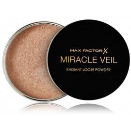 Max Factor Miracle Veil Radiant Loose Powder biri pudra makiažo užbaigimui 4 g.