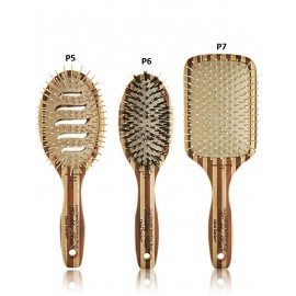Olivia Garden Healthy Hair Ionic Paddle profesionalus plaukų šepetys 1 vnt.