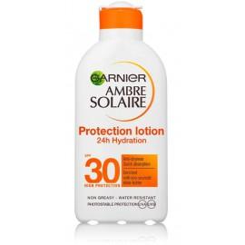 Garnier Ambre Solaire Protection Lotion 24 Hydrating SPF30 drėkinamasis losjonas nuo saulės
