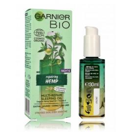 Garnier Bio Multi Reparing Hemp atkuriamasis naktinis veido aliejus