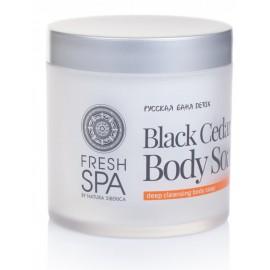 Siberica By Natura Professional Fresh Spa Black Cedar Body kūno muilas