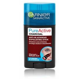 Garnier Pure Active Charcoal Anti-Blackhead Exfoliating Stick šveičiamoji priemonė veidui