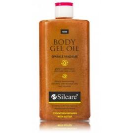 Silcare Sparkle Madame Body Gel Oil spindesio suteikiantis gelinis kūno aliejus