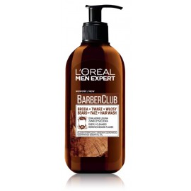 L'OREAL Men Expert Barber Club Hair and Facial hair wash daugiafunkcis prausiklis