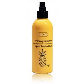 Ziaja Pineapple gaivinamoji ir drėkinamoji kūno dulksna su kofeinu