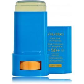 Shiseido Clear Stick UV Protector SPF50 + WetForce apsauginis kremas nuo saulės