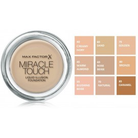 Max Factor Miracle Touch makiažo pagrindas
