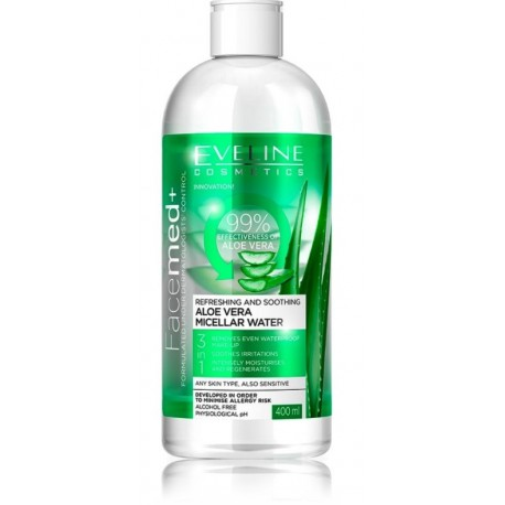 Eveline Facemed+ 3in1 raminantis ir gaivinantis micelinis vanduo