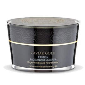 Natura Siberica Caviar Gold Protein veido ir kaklo kaukė