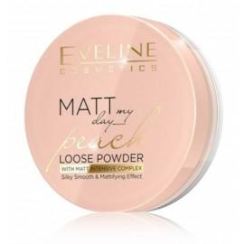 Eveline Matt My Day Peach Loose Powder biri pudra