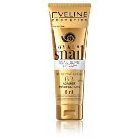 Eveline Royal Snail BB 8in1 matinį efektą suteikiantis veido kremas