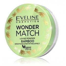 Eveline Wonder Match Loose Powder Bamboo biri pudra