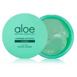 Holika Holika Aloe Soothing Essence Hydrogel Eye Patch paakių pagalvėlės