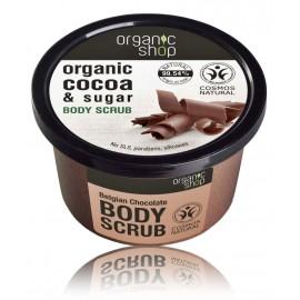 Organic Shop Organic Cocoa & Sugar Body Scrub kūno šveitiklis