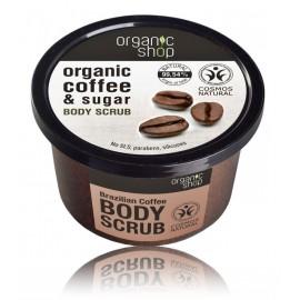 Organic Shop Organic Coffee & Sugar Body Scrub kūno šveitiklis