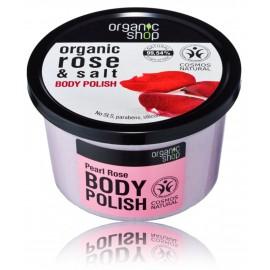 Organic Shop Organic Rose & Salt Body Polish kūno šveitiklis