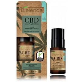 Bielenda CBD Cannabidiol Moisturizing And Soothing Face Oil With CBD Of Hemp maitinamasis veido aliejus jautriai ir sausai odai