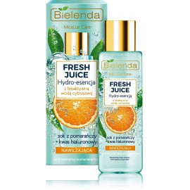 Bielenda FRESH JUICE Moisturizing Hydro-Essence drėkinamoji veido esencija su citrusiniu vandeniu ir apelsinų sultimis