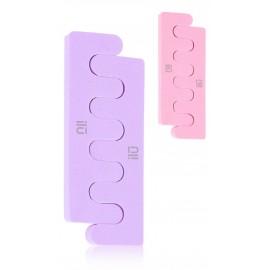 Ilū by Tools For Beauty Toe Separators kojų pirštų skirtukai pedikiūrui 2 vnt.