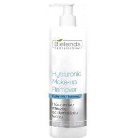 Bielenda Professional Hyaluronic Makeup Remover Milk valomasis veido pienelis