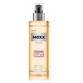 Mexx Woman Classic Citrus & Sandalwood Body Mist kūno dulksna