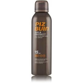 Piz Buin Tan & Protect Tan Intensifying Sun Spray SPF 15 įdegį skatinantis purškiklis