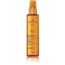 Nuxe Sun Tanning Oil SPF10 aliejus deginimuisi
