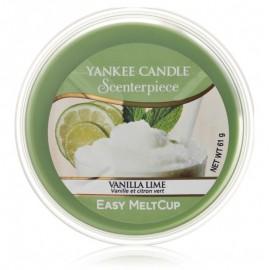 Yankee Candle Scenterpiece Easy Meltcup Vanilla Lime aromatinis vaškas