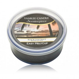 Yankee Candle Scenterpiece Easy Meltcup Black Coconut aromatinis vaškas