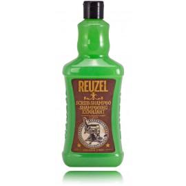 Reuzel Scrub Shampoo šveičiamasis, giliai valantis šampūnas vyrams