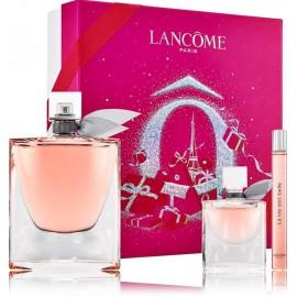 Lancome La Vie Est Belle rinkinys moterims (100 ml. EDP + 10 ml. EDP + 4 ml. EDP)