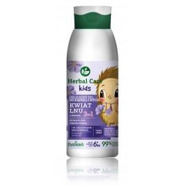 Farmona Herbal Care Kids 3in1 Delicate Bath and Shower Gel Lin Flower dušo želė vaikams