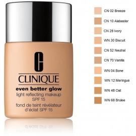 Clinique Even Better Glow Light Reflecting Makeup SPF 15 makiažo pagrindas 30 ml.